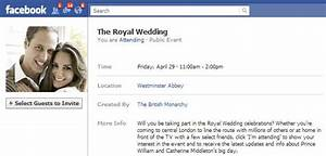 your guide to the royal wedding 2011 social media style With wedding invitation text for facebook
