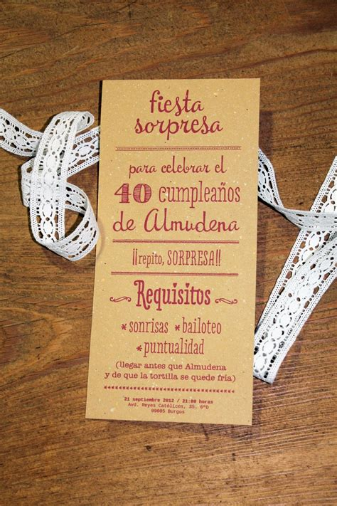 7 best invitaciones cumplea 241 os adulto on cards cover pages and invitation