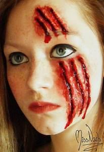 Bloody Halloween Makeup Ideas - The Xerxes