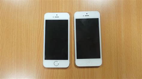 white iphone 5s iphone 5s gold and white front