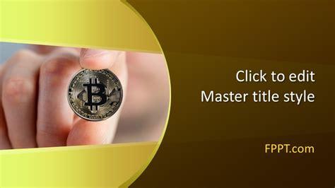 crypto bitcoin powerpoint template  powerpoint
