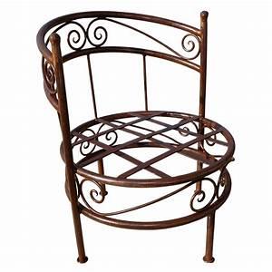 Fauteuil Fer Forgé : fauteuil en fer forg riad fauteuil de jardin fauteuil de salon ~ Melissatoandfro.com Idées de Décoration