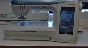 innov is 2800d embroidery machine with pes pacesetter With brother lettering machine
