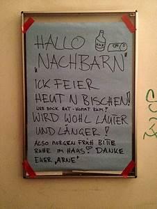 Nachbarn Schriftlich über Party Informieren : partyank ndigung made in berlin notes of berlin ~ Frokenaadalensverden.com Haus und Dekorationen