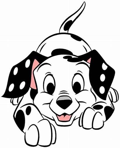 Clipart Dalmatian Dog Disney 101 Dalmatians Clip