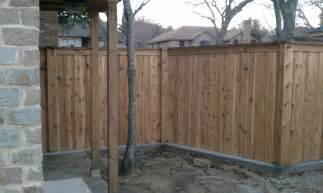 Wood Privacy Fence Designs