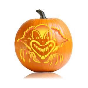 Clown Pumpkin Stencils Free by Spooky Clown Pumpkin Carving Pattern Ultimate Pumpkin
