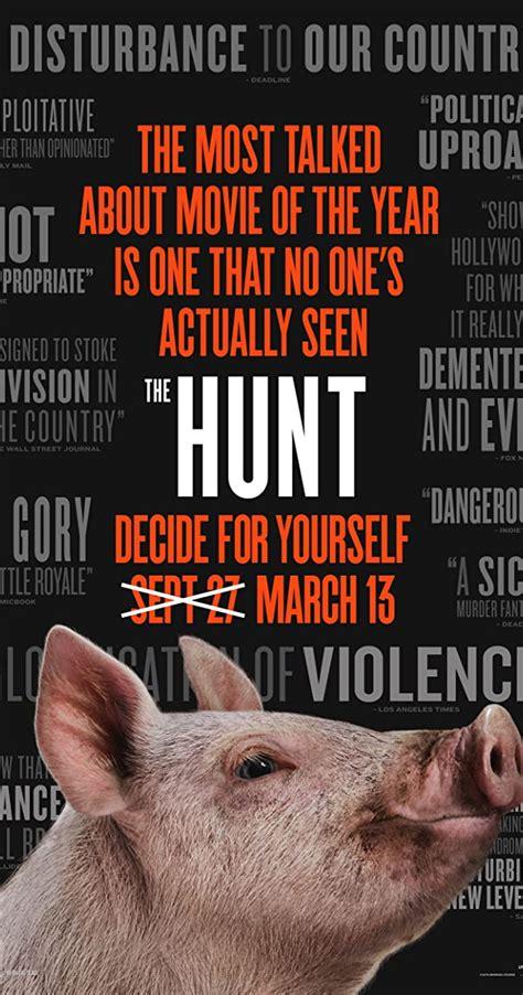 hunt  release info