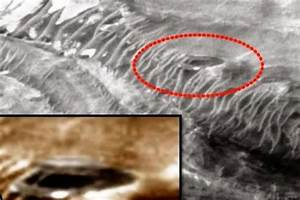 Life on Mars? UFO hunters discover secret base on the red ...