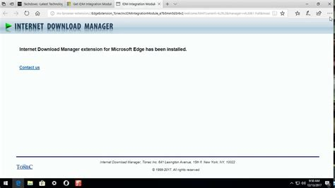 I have just upgraded my windows to windows 10. How to install IDM Extension in Microsoft Edge from Microsoft Store - YouTube