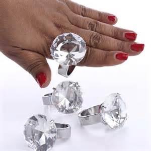 bling wedding invitations 39 diamond 39 engagement ring napkin rings anniversary