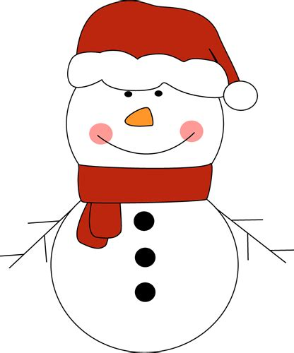 Clipart Snowman Snowman Hat Clipart New Calendar Template Site