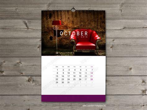 photo calendar template wall calendar template 2018 yearly monthly wall calendar