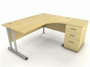 Maple corner desk icarus office furniture for Corner desk office