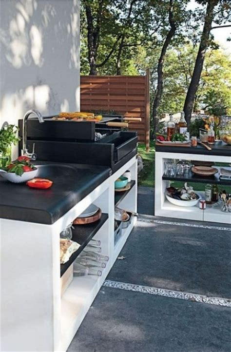amenagement cuisine d ete 20 modern outdoor kitchen ideas