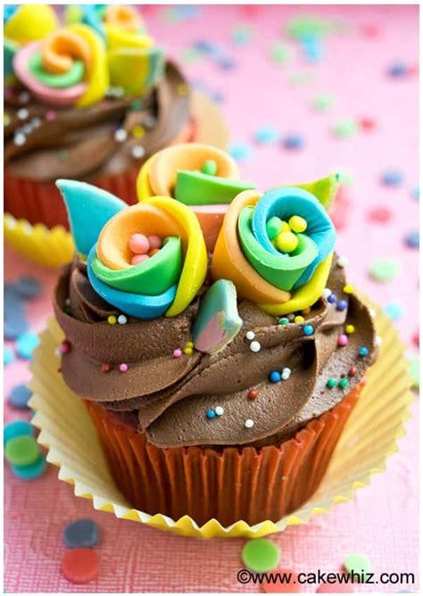 rainbow flower cupcakes cakewhiz