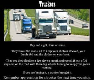 Truck Driver Appreciation Poem