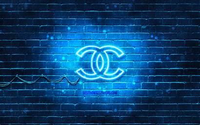 Chanel Neon Brands 4k Desktop Brickwall Wallpapers