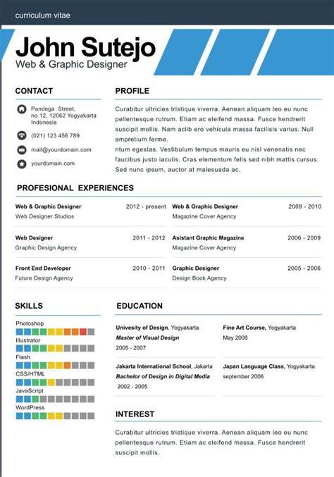 elegante  page elegant  page resume template
