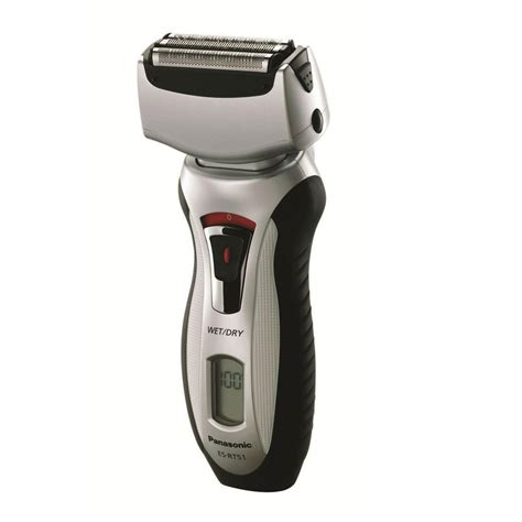 panasonic triple head wetdry shaver esrts home depot