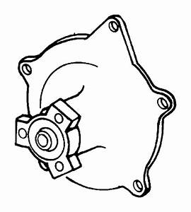 2006 Dodge Grand Caravan Pump  Water  Engine  Ohv  Related