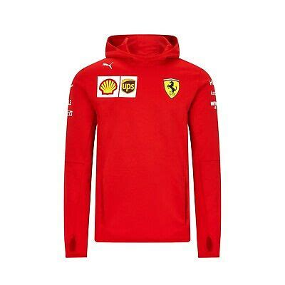 Made of water repellent fabric, this scuderia ferrari jacket is the official replica of the one worn by the team. 2020 F1 Scuderia Ferrari Official Team Fleece Hoody ...