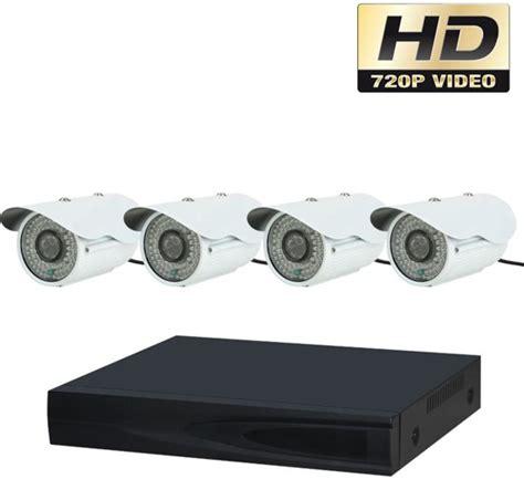 hd beveiligingscamera set bol ahd 720p beveiligingscamera set met 4 cameras