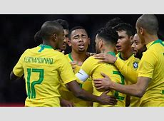 Brazil 2018 FIFA World Cup Team Squad, Schedule, Jersey