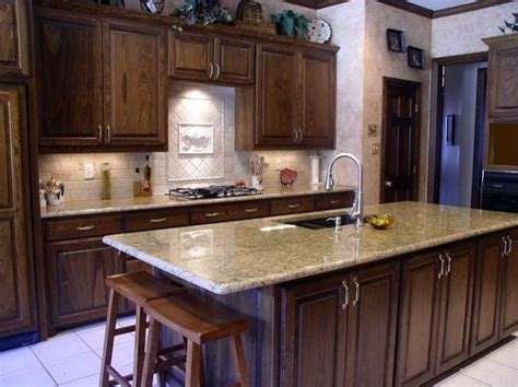giallo ornamental granite with cabinets 2017 2018
