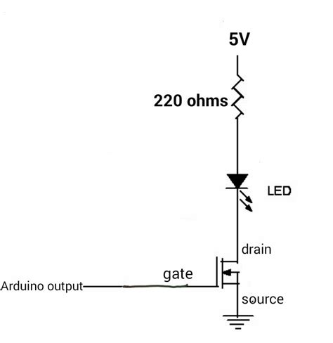 Irf Channel Mosfet With Arduino Electrical