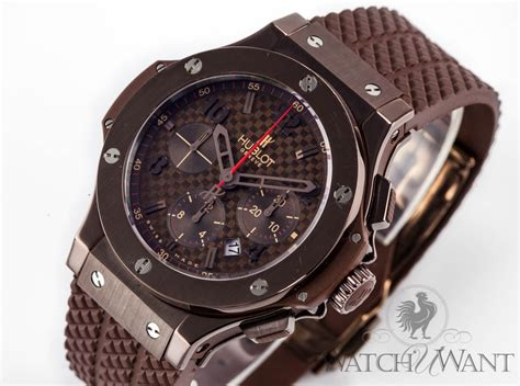Hublot Bigbang Black Brown sold listing hublot big chocolate special