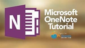 Microsoft Onenote Tutorial  Old Version