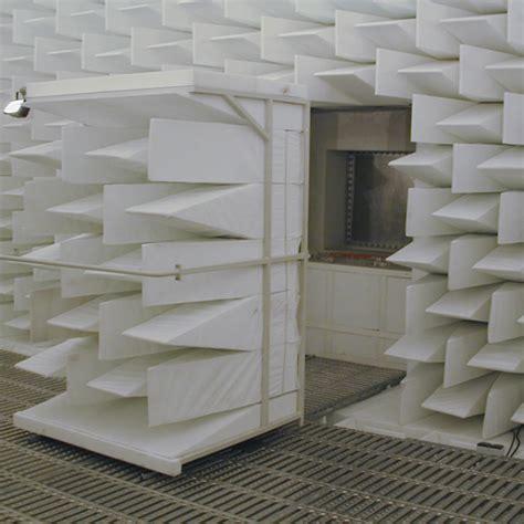 chambre sourde salle anéchoïque test étude acoustique