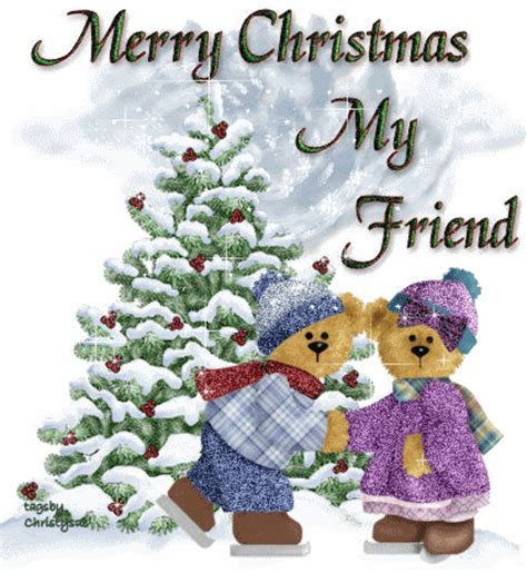 Merry Christmas My Friend Pictures, Photos, and Images for