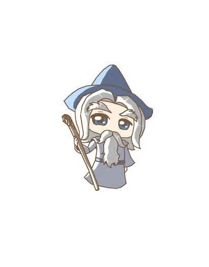 Gandalf Hobbit Clipart Grey Lord Deviantart Rings