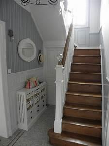 decorer une entree avec escalier menuiserie With decorer une entree avec escalier