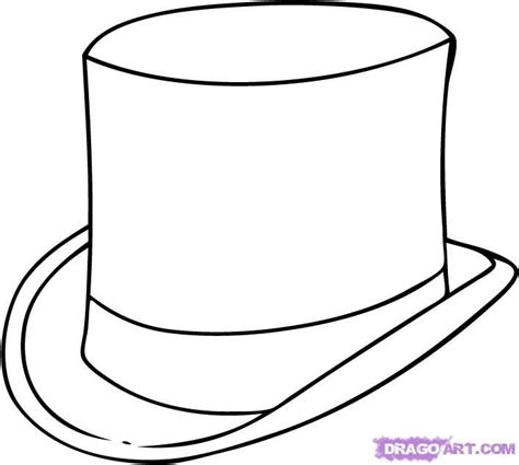gallery  mad hatter hat coloring page