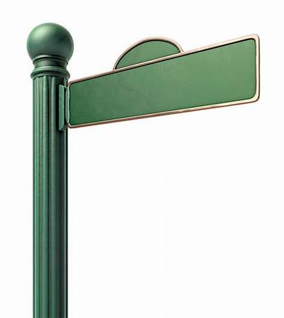 Street Sign Blank Signs Clip Clipart Fashoned