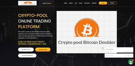 Like the bitcoin doubler club site, this one promises returns in crypto trading (which are never a guarantee) in a remarkably short time period: Crypto-pool.club Reviews: Crypto Pool, Another Scam Bitcoin Doubler