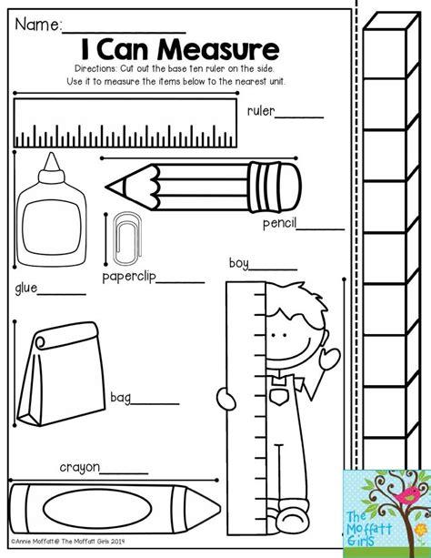 25 best measurement kindergarten ideas on 553 | 9acb679034c20296dff0e96fa22e6bb7 preschool math length in kindergarten