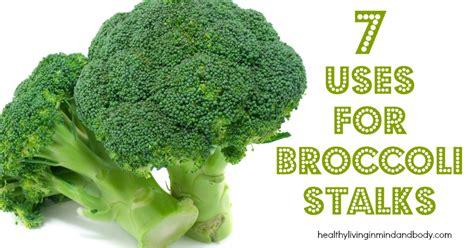 broccoli stalks healthy living  body  mind