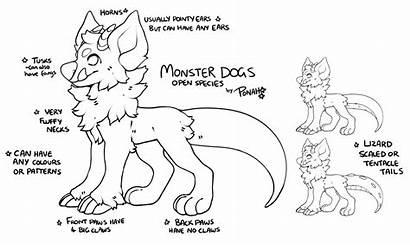 Monster Ref Dog Species Open Furry Dogs