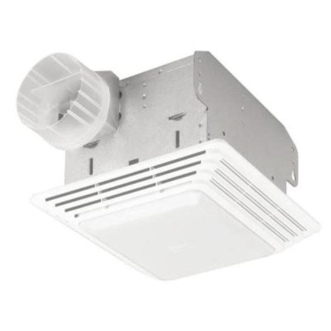 home depot bath fans null 50 cfm ceiling exhaust bath fan with light