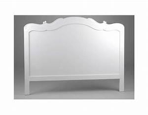 Tete De Lit Blanche : tete de lit amadeus blanche 160 cm ~ Premium-room.com Idées de Décoration