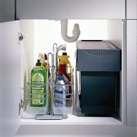 kitchen sink cabinet accessories removable sliding basket richelieu hardware 5660