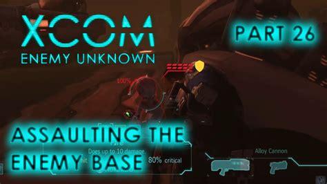 enemy base xcom unknown