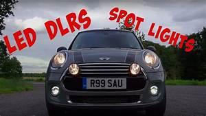 Mini F56 Led Lights Mini Cooper F56 Spot Lights Led Drls Studio Reesau