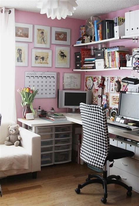 pink home office 17 pink office decor for girl