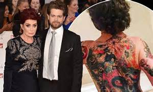 Jack Osbourne shares Instagram photo of GIANT back tattoo ...