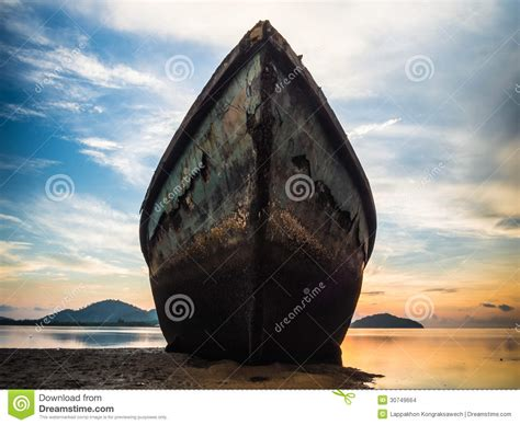 Big Boat In Rust by Big Boat Stock Photo Image Of Rust Damaged